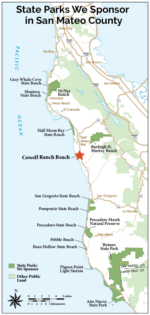 Cowell Ranch State Beach | Coastside State Parks ociation on