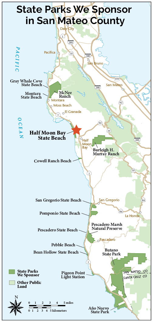 Half Moon Bay State Beach | Coastside State Parks Association