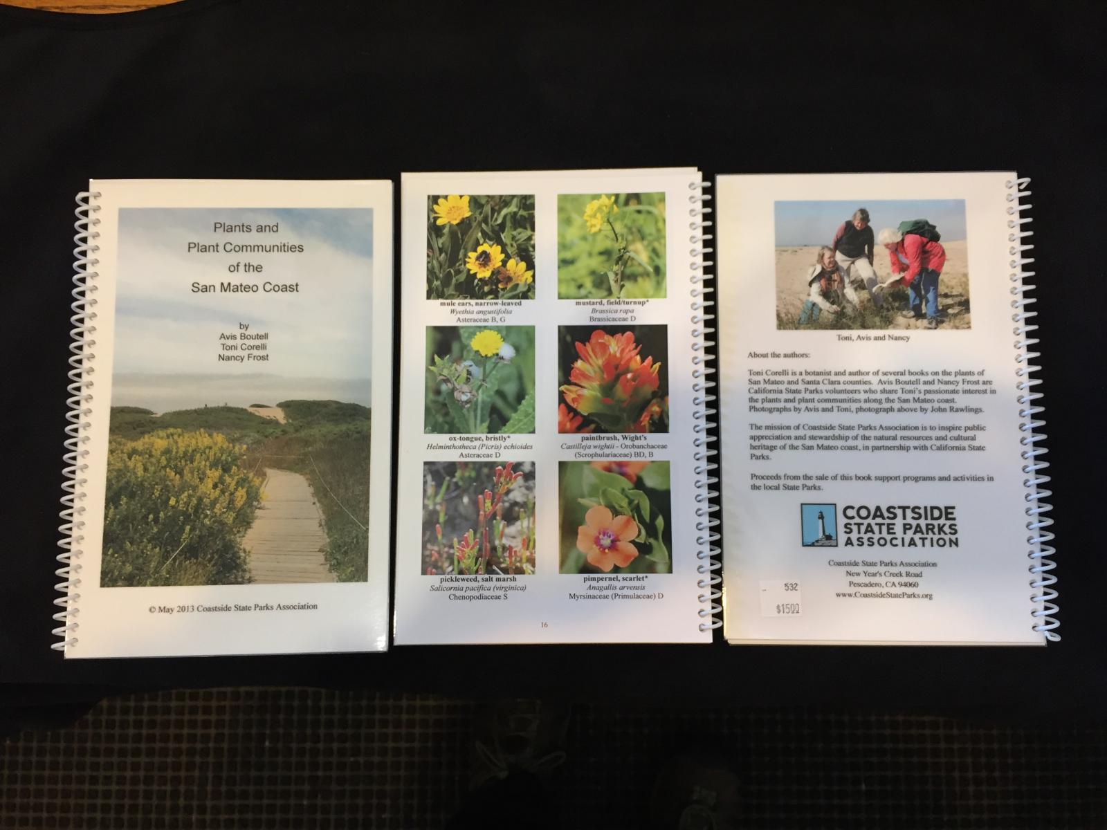 California san mateo county pescadero - A Self Published Reference Book Of The Most Common Plants Found On The San Mateo County Coast Photo Cspa Archive